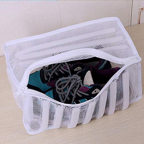 SADA72Lavanderia Wash Bag, Wahing Mesh Wash Borsa Sneaker Lavasciuga Lavare i Vestiti Borsa per...