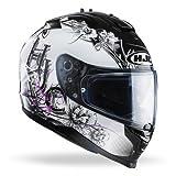 HJC Helm Moto Is–17Barbwire, schwarz/weiß, Größe M
