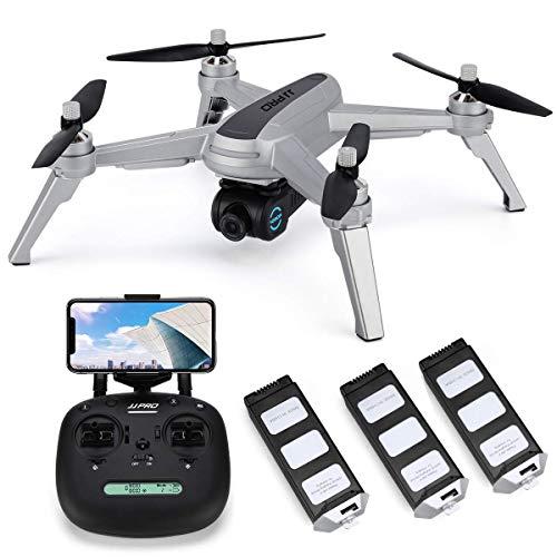 Wifi Drone GPS Con Videocamera HD 1080P Video in Diretta E Ritorno GPS Home Quadcopter Con Motore...