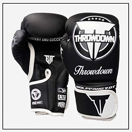 Guanti allenamento stile Pro, guantoni da boxe per uomo e donna Guanti Kickboxing Muay Thai Sparring...