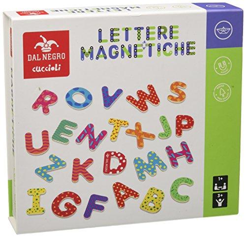 Dal Negro-Dal 53827-Lettere Magnetiche, Multicolore, 822064