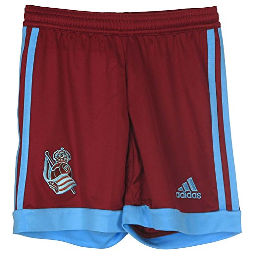 adidas Away Short - Pantalón Corto Atletico Osasuna 1ª equipación 2015/2016 para Hombre, Color Rojo/Azul, Talla 152