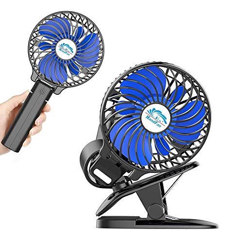HandFan Mini Ventilatore a spruzzo USB Portatile Ventilatore Personale a Batteria Ricaricabile con...