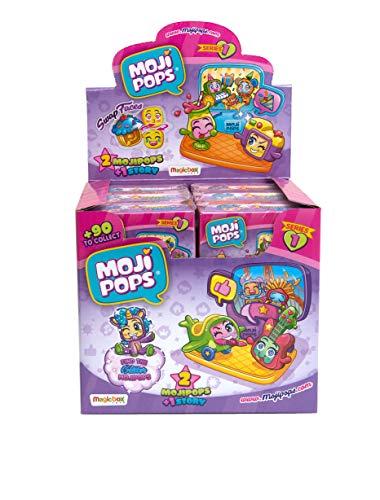 MojiPops Story Box Serie 1 Figure da Collezione Colore Assortito, PMP1D612IN00