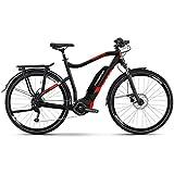 Haibike SDURO Trekking 2.0 Herren 500Wh 10G Deo. YCS XL schwarz rot Weiss E-Bike