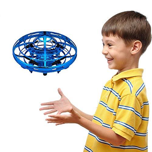 GZMY Giocattoli per Ragazzo Bambini 3-12 Anni, Elicottero a Mano Palla Volante Drones per Bambini o...