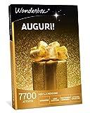WONDERBOX Cofanetto Regalo Auguri - Auguri - 7700 attività per 1 O 2 Persone