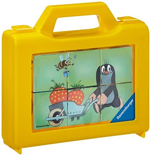Ravensburger 07466 La piccola talpa in giardino- Cubi 6 pezzi