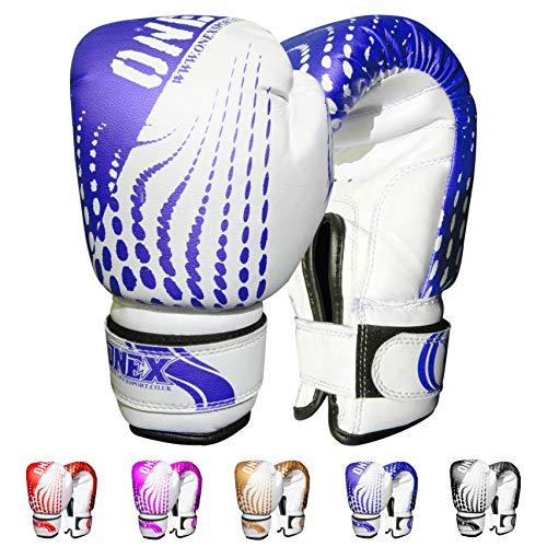 ONEX Guantoni da Boxe per Bambini Boxing Glove Punzonatura dei Guanti Lotta di MMA Guanti Kickboxing...