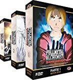 Fullmetal Alchemist: Brotherhood - Intégrale - Edition Gold - 3 Coffrets (15 DVD + Livrets)