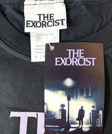 The Exorcist Green - Camiseta Negra Oficial y Original 100% Algodón 5