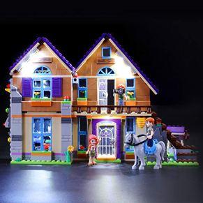 BRIKSMAX Kit de Iluminación Led para Lego Friends Casa de MIA,Compatible con Ladrillos de Construcción Lego Modelo 41369…