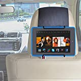 TFY Car Headrest Mount Holder for all Kindle Fire - Kindle Fire (Previous Generation 1st) / Kindle Fire HD 6 / Kindle Fire HD 7 / Kindle Fire HD X7 / Kindle HD X9 / HD 6 (2014) / HD 7 (2014) / HD 6 (Kid Edition) / HD 7 (Kid Edition) / New Fire 7 (2015) / Fire HD 8 / Fire HD 10