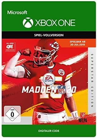 Madden NFL 20– Superstar Edition | Xbox One - Download Code
