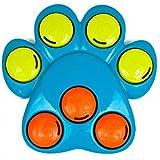 Outward Hound Interaktives Puzzle für Hunde, Pfote (Einheitsgröße) (Blau/Orange/Grün)