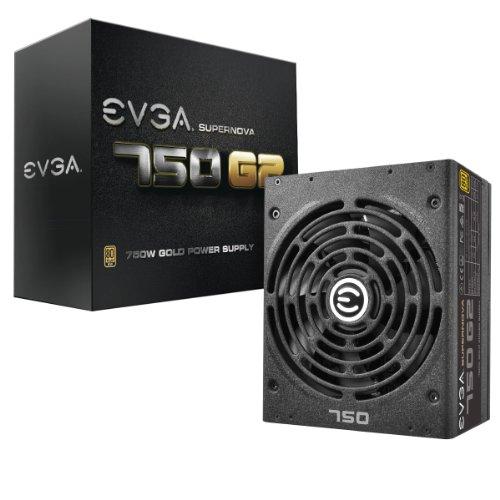 EVGA Supernova 750 G2, 80+ Gold 750W, Completamente Modular, Modo EVGA Eco,...