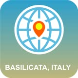 Basilicata, Italia Mapa