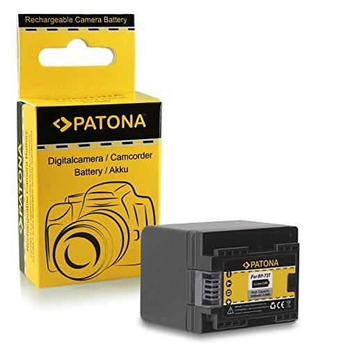 Batteria BP-727 BP727 per Canon LEGRIA HF M52   HF M56   HF M506   HF R36   HF R37   HF R38   HF R46...