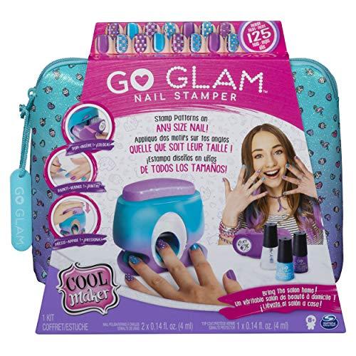 Cool Maker, Go Glam Nail Stamper, Salone da Manicure con 5 Motivi per Decorare 125 Unghie, Multicolore, 6045484