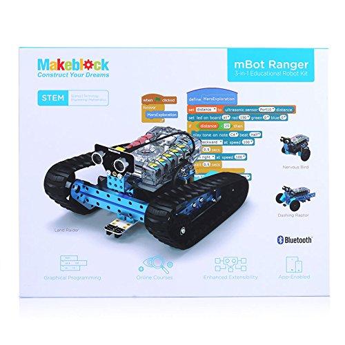 51VR7cjkLfL - Makeblock Ranger - 3 en 1 Robótica Transformable STEM Robot Kit Educativo, Aprender Coding con Un Montón de Divertido