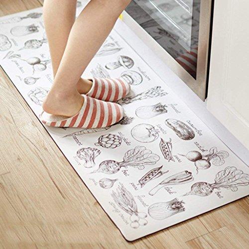 DSJ Tappetini da cucina per tappeti Tappetini anti-scivolo per tappeti da cucina,180 * 45 * 0,4...