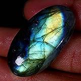 68.25CTS.Naturale incredibile. Blu flash Spectrolite labradorite ovale Cab gemma