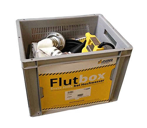 Jung Flutbox Kellerentwässerung mit U5KS Pumpe & 12,5 m C-Schlauch