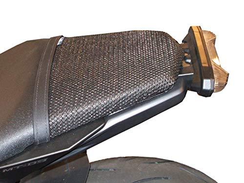 Triboseat Coprisella Passeggero Antiscivolo Nero Compatibile Con Yamaha MT 09 (2013-2018)
