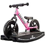 Strider 12 Sport Balance Bike and Baby Rocking Base (Pink) 6+ months