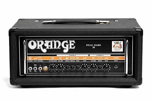 Orange Dual Dark 50 Watt Dual Channel Amplifier Head