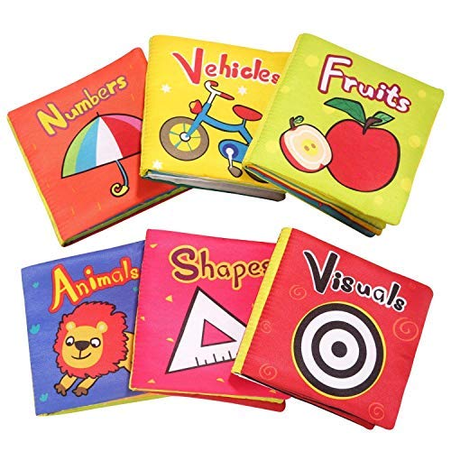 Top Bright Baby Toys 6-12 mesi – Libri morbidi effetto stropicciato per neonate e bambine, idea...