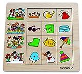 Beleduc 11030-NOU Puzzle Estaciones