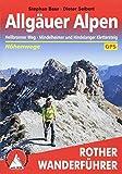Allgäuer Alpen - Höhenwege (Rother Wanderführer)