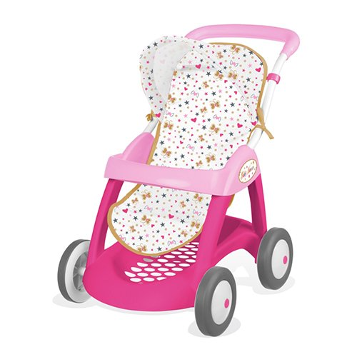 Smoby 7600251023 - Bambola Baby Nurse Passeggino