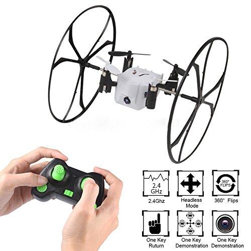 DaYe Mini RC Quadcopter Drone 0.3MP Fotocamera 4CH 6 Assi RC Quadcopter con 3D Flip e Parete...