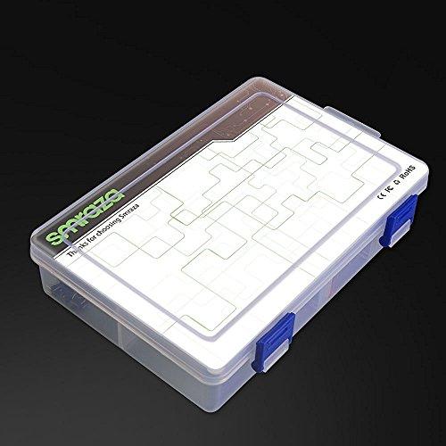 51W96YY9R5L - Smraza Conjunto Medio a UNO para Arduino con Tutorial y Conjunto de UNO R3,Relé de 5V,Modulo de Fuente de Alimentación,Servomotor, LCD1602 para Arduino Mega 2560 Nano UNO R3