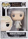 Funko- Pop Vinile Game of Thrones S8 Daenerys (White Coat) Statua Collezionabile, Colore Standard, 9 cm, 28888