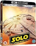 Solo: A Star Wars Story 4K Ultra HD Limited Edition Steelbook / Import / Includes Region Free Blu Ray