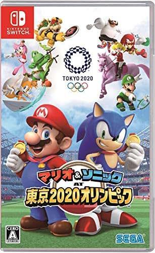 Mario & Sonic Olympic Games Tokyo 2020 Japan Import