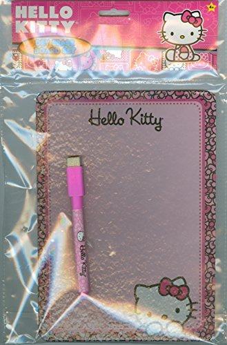 Hello Kitty pennarello cancellabile a secco con tagliere (15,2x 20,3cm) & Dry Gomma ''
