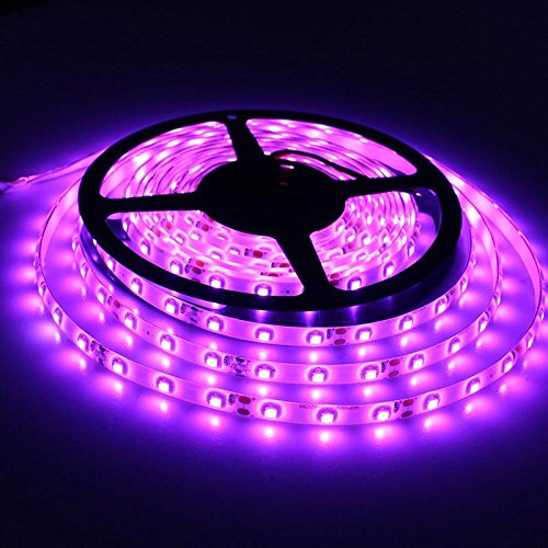 Happy Selling' 5 m Flexible Waterproof LED Strip Light with Adapter (Pink)