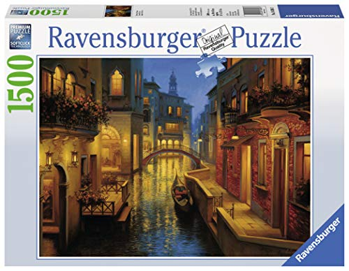 Ravensburger Italy Rav Pzl 1500 Pz. Canale Veneziano 16308, Multicolore, 878476