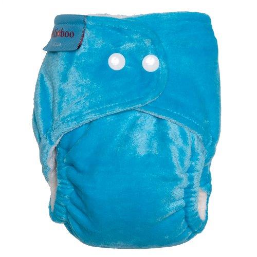 Itti Bitti-Copri-pannolino Bitti Boo, misura media, colore: turchese
