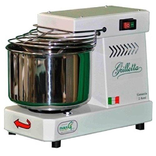 Famag GRILLETTA IM 5 Impastatrice a spirale professionale 5 KG per pane, pizza, biscotti, panettone,...
