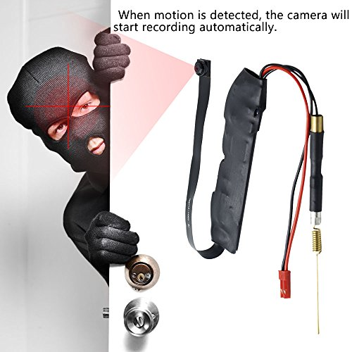 Caméra Espion WIFI TANGMI 1920x1080P HD Mini Caméra Cachée Sans Fil Détection de Mouvement Caméscope DV DIY 7/24 Heures de Travail Android i... 7