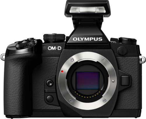 "Olympus OM-D E-M1 - Cámara EVIL de 16 Mp (pantalla de 3"", estabilizador de imagen, grabación de vídeo, WiFi), Negro"