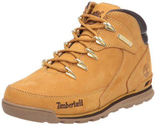 Timberland Herren Euro Rock Hiker Chukka Boots, Braun (Wheat Nubuck), 43 EU
