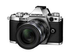 "Olympus OM-D E-M5 Mark II - Cámara Evil de 16.1 MP con Objetivo M. Zuiko EZ 12-50 mm f3.5 (Pantalla táctil 3"", estabilizador óptico, grabación de vídeo Full HD), Color Plata"