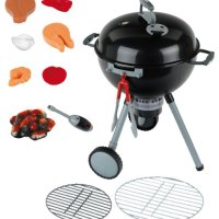 bbdcacd02d29 Theo Klein 9401 Weber Kettle Barbecue One Touch Premium with Light and  Sound