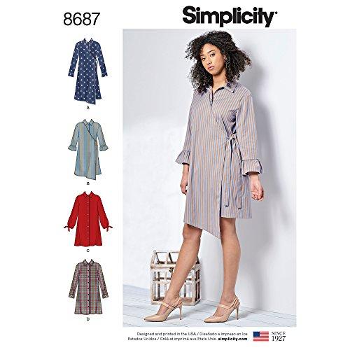 Simplicity Patterns US8687AA Misses' Dresses